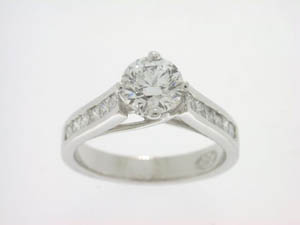 Ladies 18ct WG Diamond Set Dress Ring TDW=1.20ct